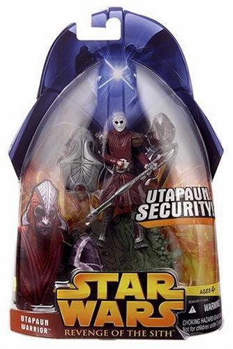 UTAPAUN WARRIOR * Utapaun Security * 2005 Star Wars Revenge of the Sith #53 Collection 2 Action Figure & Accessories