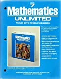 Grade 7 Mathematics Unlimited Teachers Resource Book