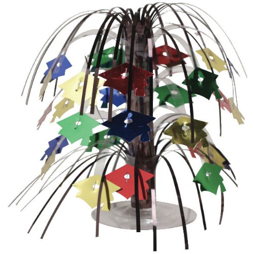 Creative Converting Cascade Centerpiece, Mini, Multicolor