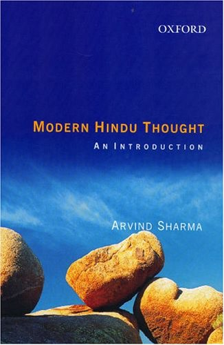 Modern Hindu Thought: An Introduction