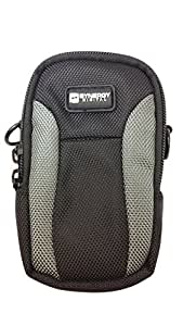 Nikon Coolpix L620 Digital Camera Case Point & Shoot Digital Camera Case, Black / Grey - Replacement by Synergy Digital