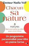 Chacun sa nature - 8 natures, bien connaître la vôtre pour vivre mieux par Volf