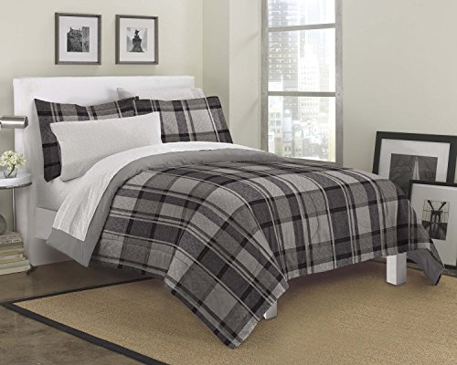 Ultimate Plaid Microfiber Bedding Set