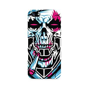 Mobicture Monster Skull Premium Printed Case For Apple iPhone 4/4s