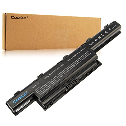 Click to buy CoolGo® New Laptop Battery for Acer Aspire 4253 4551 4552 4738 4741 4750 4771 5251 5253 5336 5349 5551 5552 5560 5733 5733Z 5741 5742 5750 5750G 5755 7551 7552G 7560 [Li-ion 6-cell 5200mAh/58WH] - From only $51.95
