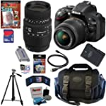 Nikon D5200 24.1 MP CMOS Digital SLR...