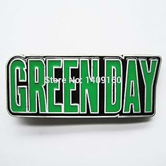 Greenday Music Belt Buckle Gurtelschnalle Boucle de ceinture: Clothing