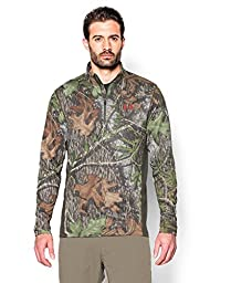 Under Armour Men\'s Tech Scent Control  ¼ Zip, Mossy Oak Obsession (940), XX-Large