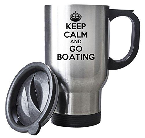 KEEP-CALM-and-Go-Boating-Silver-Travel-Mug-Steel