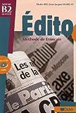 echange, troc Elodie Heu, Jean-Jacques Mabilat - Edito niveau B2 du CECR : Méthode de français (2CD audio)