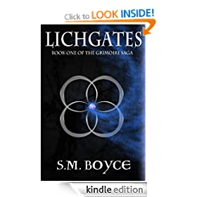 Lichgates: Book One of the Grimoire Saga (a Young Adult Fantasy Series)