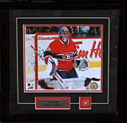 Carey Price 8X10 Pin & Plate - Memorabilia