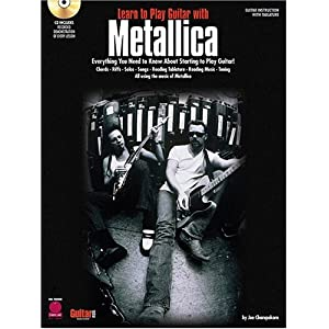 Learn to Play Guitar with Metallica (Cherry Lane)