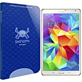 Skinomi Tech Glass - Samsung Galaxy Tab S 8.4 Glass Screen Protector with LifeTime Replacement Warranty / Ultra Thin (.33mm Thickness) Premium Tempered Glass - Crystal Clear 9H Hardness with Oleophobic Coating - 99% Clarity and Touchscreen Accuracy - Retail Packaging (only compatiable with SM-T700 Version)