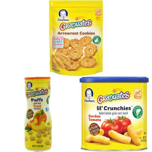 Gerber Graduates Snacks Variety Pack