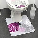 Tapis contour WC