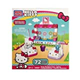 Mega Bloks Hello Kitty Busy Bumper Cars Building Kit