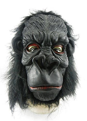 AnVei-Nao Womens Men Apes Gorilla Horror Masquerade Mask Costume Halloween Party