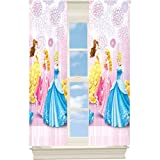 Disney Princess Flashing Beauty Room Darkening Window Curtain Panel Drape