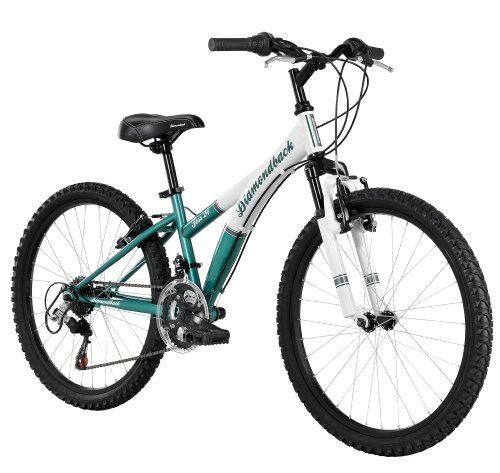 Diamondback Bicycles 2014 Tess Junior Girl's Mountain Bike (24-Inch Wheels), One Size, Green at Sears.com
