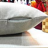Home Decor Pillow, Gillberry Halloween Pumpkin Square Pillow Cover Cushion Case Pillowcase Zipper Closure (U)