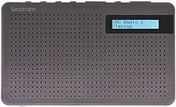 Goodmans Portable Digital & FM Radio in Slate Grey
