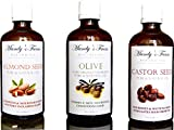 BABY BLISS MASSAGE GIFT PACK - 3 Mandy's Farm Pure & Natural Massage Oils for Babies