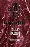 img - for Isaiah Vol 1 (The College Press Niv Commentary. Old Testament Series) by Terry R. Briley (2000) Hardcover book / textbook / text book