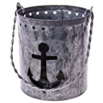 Metal Anchor Tealight Holder