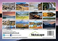 Lake District 2016 Calendar - Scenic Landscape Photography Wall Art Calendar