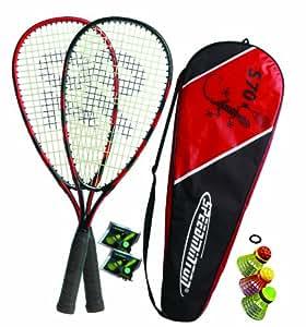 Speedminton ® Set S70 für Einsteiger, rot/schwarz