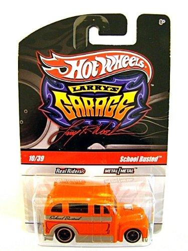 Hot Wheels Larry Garage School Busted