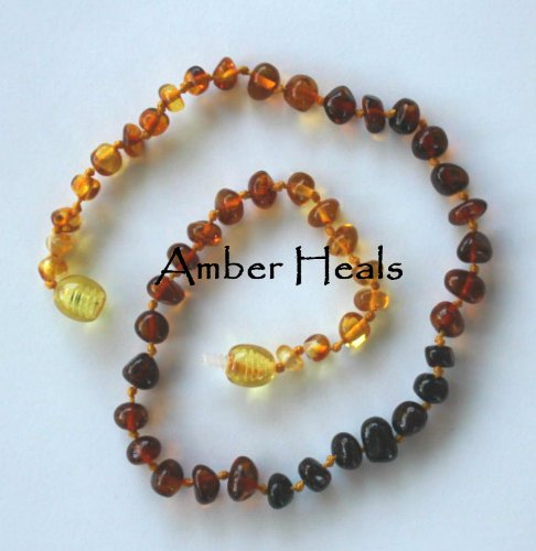 Imagen de Amber Sana - Baltic Amber dentición collar de bebé - Rainbow Barroco - GVGTHANX USO LIBRE ENVÍO Promo Code