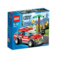 Lego City Fire Chief Car Building Sets