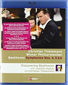 Beethoven Symphonies 4-6 Blu-ray 2011region Free from C MAJOR ENTERTAINMENT