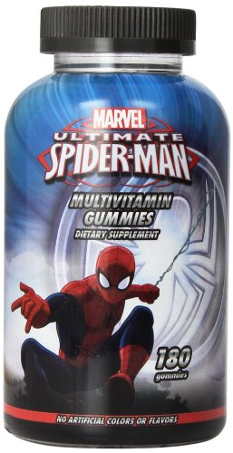 Disney Multivitamin Gummies, Marvel Spiderman, 180 Count front-573724