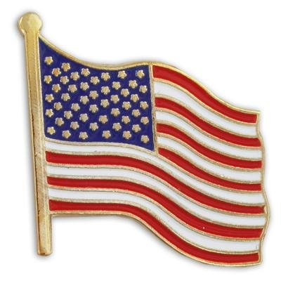 Best Review Of United States Waving American Flag Stars and Stripes Lapel Pin