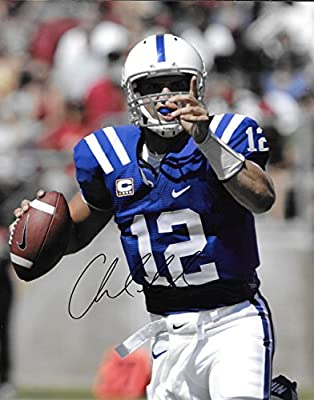 Andrew Luck Indianapolis Colts Autographed Signed 8 x 10 Photo - COA - NM/MT - MT Condition!