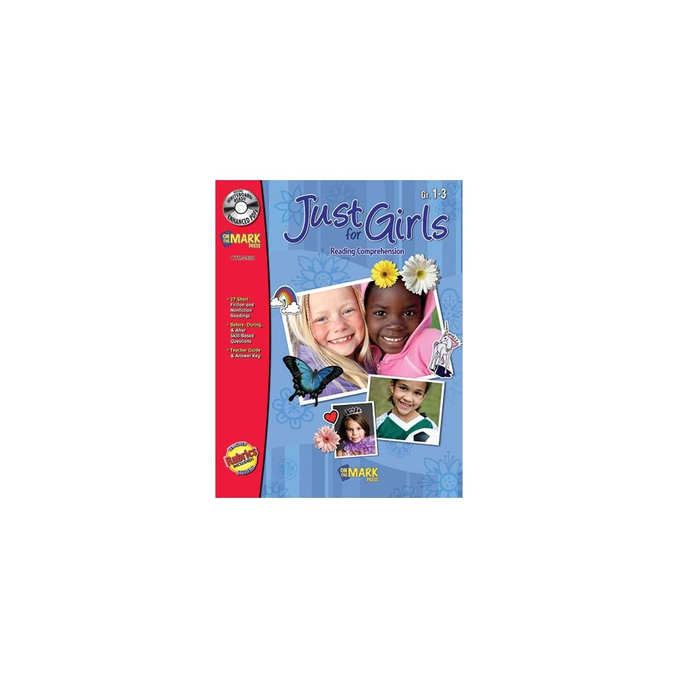 Just For Girls Toys : Just for girls gr reading on the mark toys games
