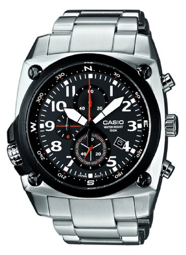 Casio Watch MTF-E004D-1AVEF WITH Large Analogue Dial and Bracelet Strap
