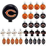 NFL Blown Glass Tree Top Mini Ornament Set 31 Piece - Pick Team