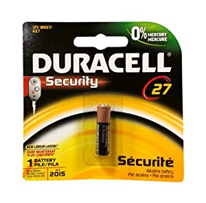 Duracell CB Security 27 Battery
