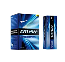 Nike Crush Golf Balls, (Pack of 12)