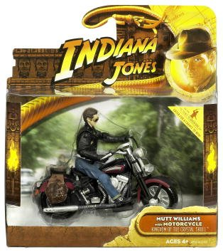 Picture of Hasbro Indiana Jones Deluxe Figure Mutt Motorcycle (B001EWJFUE) (Hasbro Action Figures)