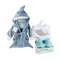 Baby Aspen Shark Gift Bundle with Shark Chomp & Stomp and Shark Robe