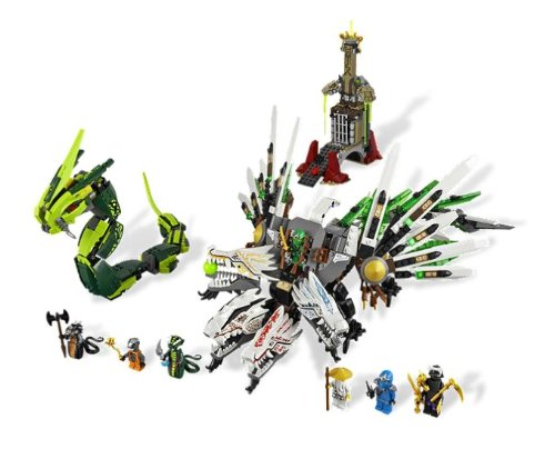 Toy / Game Lego Ninjago 9450 Epic Dragon Battle - Flexible Body And Opening Mouth With Space For Minifigure front-1018073