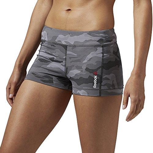 Hot Shorts Camo One Series femminile Reebok, carbone, m, AJ0710