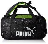 [プーマ] PUMA ダッフルバッグ Active Girls 3Way Duffle Bag 074358 02 (ブラック/ブラック/ドット)