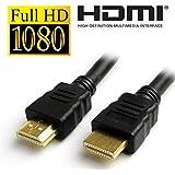 Fleejost HDMI Male To HDMI Male Cable (Black)