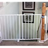 Regalo Top Of Stairs Expandable Metal Gate, With Mounting Kit